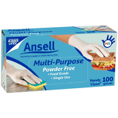Ansell Handy Disposable Gloves 100pk Latex